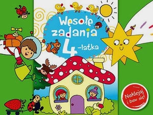Wesołe zadania 4-latka Naklejaj i baw się! Lekan Elżbieta