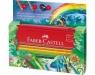 Kredki Grip 16 kolorów w piórniku metalowym Jungle (112452)