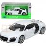 WELLY Audi R8, białe (WE22493)