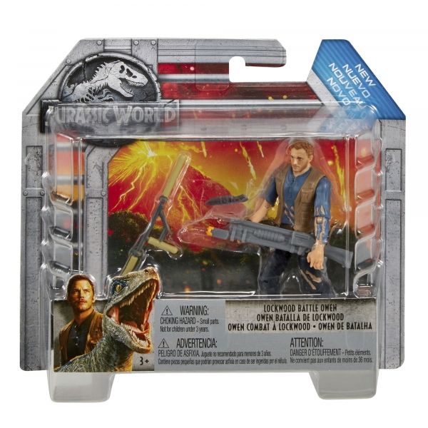 Jurassic World: figurka bohatera - Owen z bronią