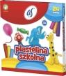 Plastelina szkolna AS 24 kolory