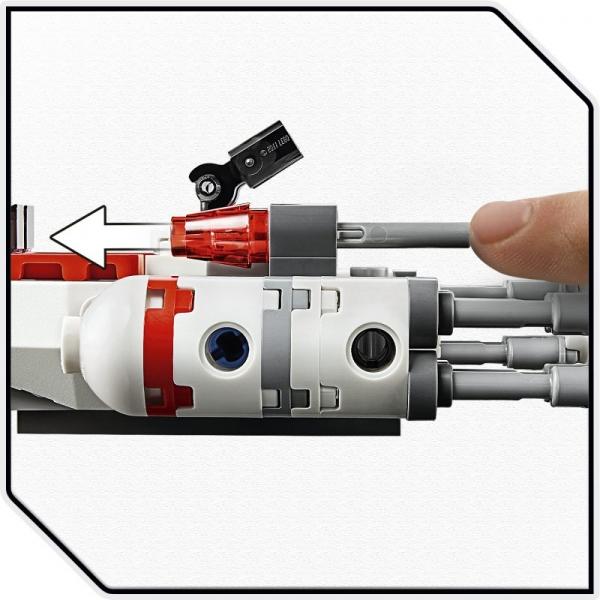 Lego Star Wars: Mikromyśliwiec Y-Wing Ruchu Oporu (75263)