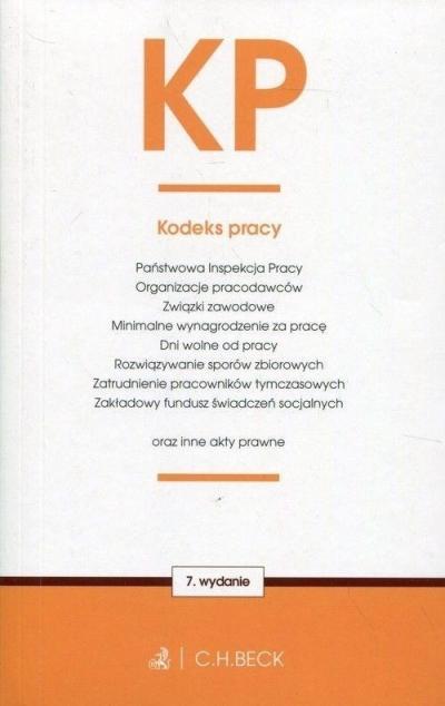 Kodeks pracy oraz ustawy towarzyszące