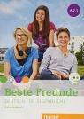Beste Freunde A2.1 AB + CD w.niemiecka HUEBER