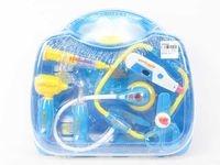 Zestaw lekarski w plastikowej walizce 11 elementów