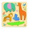 Drewniane Puzzle Relief Dżungla (DJ01052)