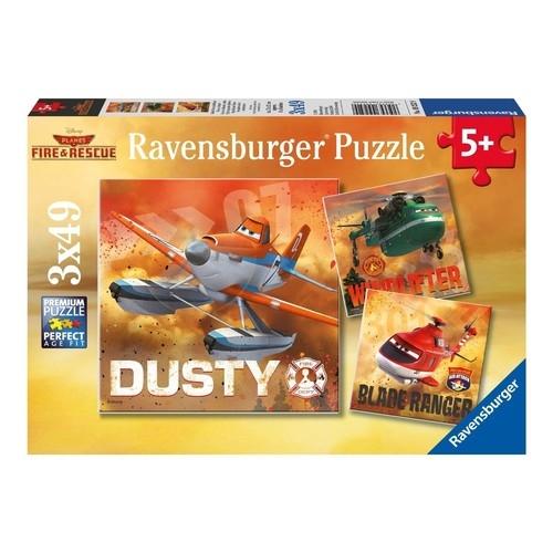 Puzzle Samoloty Ratunkowe 3x49