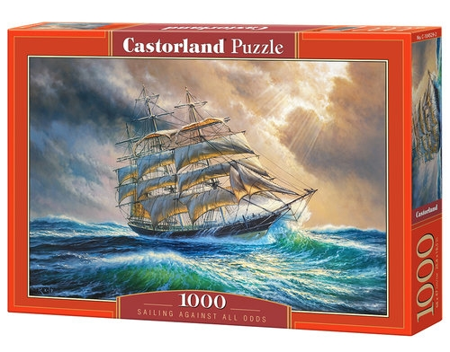 Puzzle 1000: Sailing Against All Odds