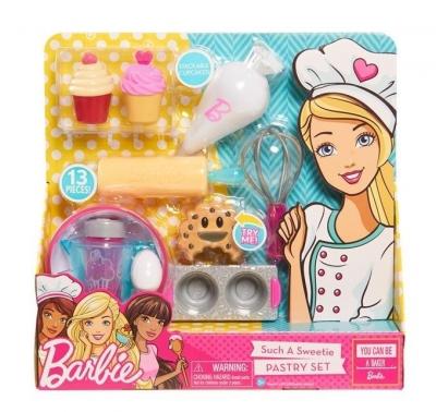 Barbie wyroby cukiernicze zestaw