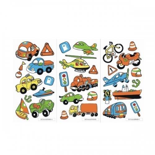 Naklejki Sticker BOO silver - Pojazdy (237274)