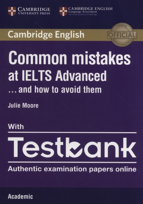 Common Mistakes IELTS Adv anced with Testbank Moore Julie