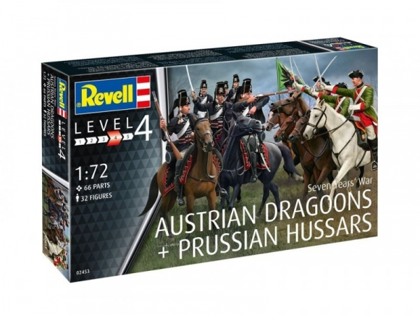 Seven Years War Austrian Dragons + Prussian Hussars (02453)