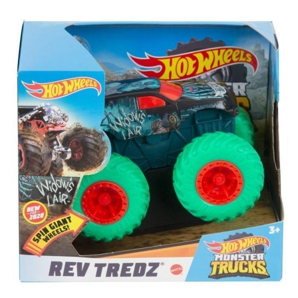 Pojazd Monster Trucks 1:43 Widows Liar (FYJ71/GKC76)
