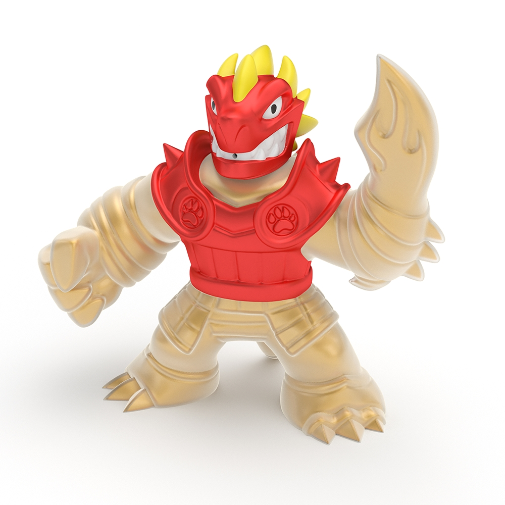 Goo Jit Zu: dwupak, figurka Blazagon vs Rock Jaw (GOJ41053)