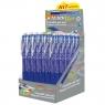 Długopisy wymazywalne Wizard 0.7mm, 24 szt. - niebieski