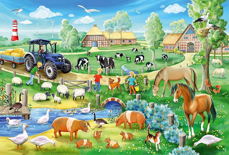 Puzzle 3x48: Na farmie