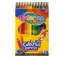 Kredki ołówkowe - Jumbo - 17,5cm 12 kolorów (15530PTR)