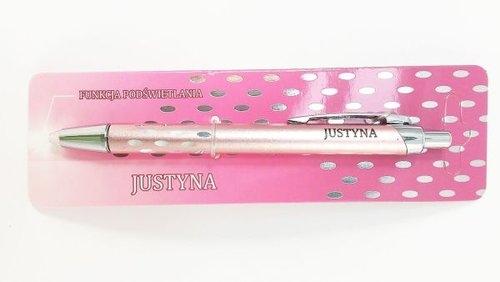 Świet(L)ny Długopis - Justyna