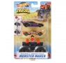 Hot Wheels Monster Trucks: Pojazd Monster Maker - Fioletowy (GWW13/GWW16)