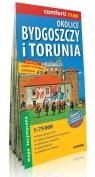 Okolice Bydgoszczy i Torunia comfort! map laminowana mapa turystyczna