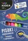 Pisaki wymazywalne Kidea 7 kolorów + wymazywacz