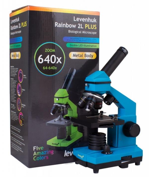 Mikroskop Rainbow 2L plus lazurowy (69118)