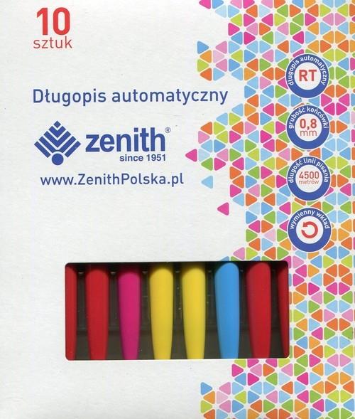 Długopis Zenith 5 niebieski 10 sztuk