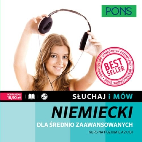 Słuchaj i mów Niemiecki dla średnio zaawansowanych + CD