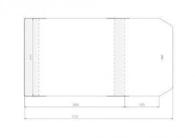 Okładka 297 mm (wysokość) (50 sztuk) 297