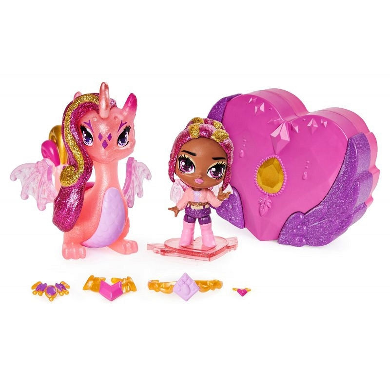 Hatchimals Pixies Riders: Wróżka Crystal Charlotte i Draggle Glider (6058551/20126609)