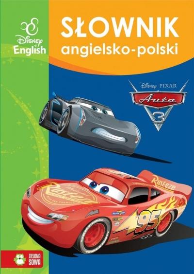 Słownik angielsko-polski. Auta 3. Disney (Uszkodzona okładka) praca zbiorowa