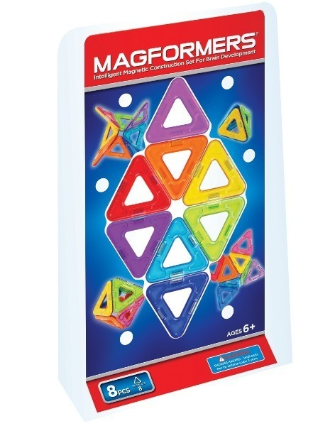 MAGFORMERS Klocki Magnetyczne 8 el.