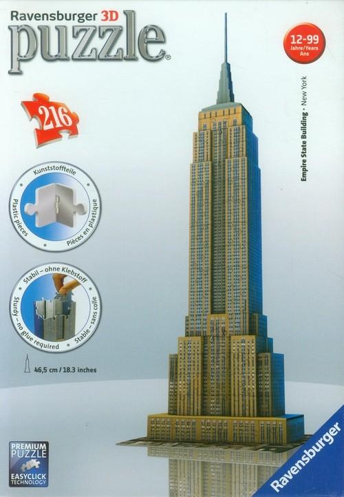 Puzzle 3D. Empire State Building. 216 elementów (125531)