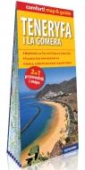 Teneryfa i La Gomera laminowany map&guide (2w1: przewodnik i mapa)