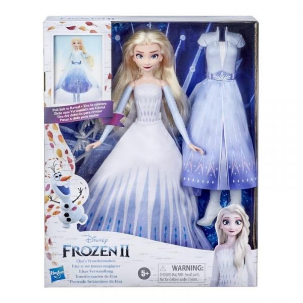 Lalka Frozen 2 Elsa Magiczna przemiana (E9420)