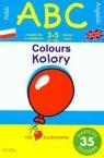 ABC Kolory z naklejakami. Ćwiczenia dwujęzyczne