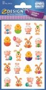 Naklejki Papierowe - Zwierzęta Wielkanocne
