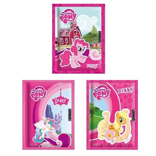 Pamiętnik brokatowy zamykany My Little Pony