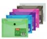 Koperta na dokumenty A6 - transparentna fioletowa (PAT6133A/N/12)