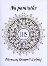 Karnet B6 Komunia IHS