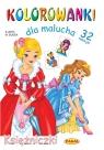 Kolorowanki dla malucha Księżniczki Budek Mariola