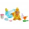 Barbie Skipper - Lalka dziecko zmieniająca kolor z akcesoriami do karmienia i kąpieli (GHV83/GHV84)