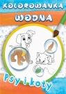 Wodne kolorowanki Psy i koty praca zbiorowa