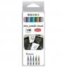 Pisaki DECOmetalic brush Toma, 5 kolorów (TO-325 )