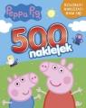 Peppa Pig 500 naklejek