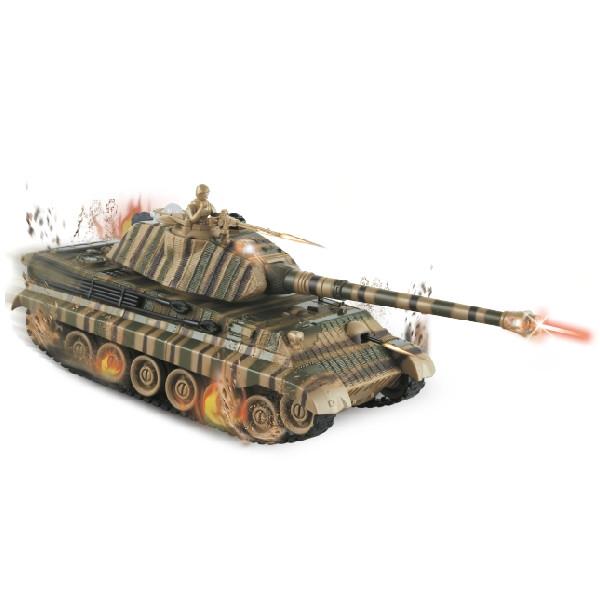 DROMADER Czolg King Tiger z pakietem (00753)