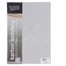 Papier ozdobny (wizytówkowy) Galeria Papieru stars srebrny A4 - srebrny 220 g (204305)