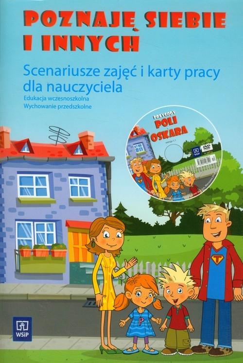 Poznaj siebie i innych Scenariusze zajęć i karty pracy dla nauczyciela z płytą DVD Walczak-Sarao Małgorzata