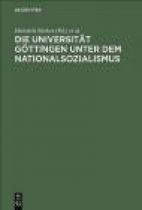 Universitat Gottingen unter Nationalsozialismus