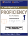 Cambridge English Proficiency 1 for updated exam SB w/o ans